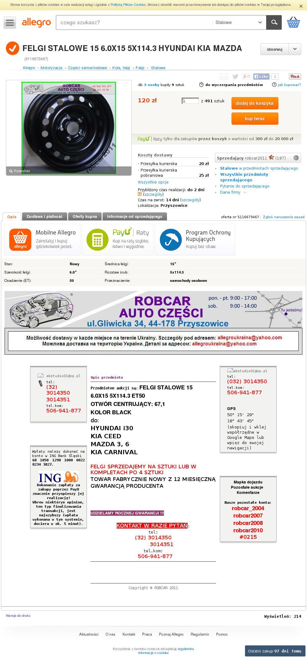 Mazda3 Bk Felgiopony Dobór Jakie Wchodzą Bez Problemu 3344